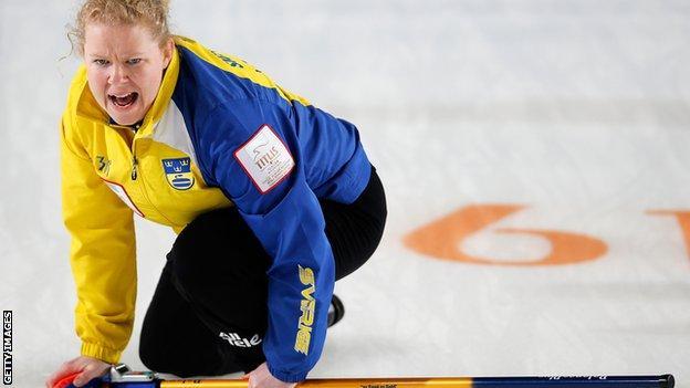 Sweden skip Margaretha Sigfridsson