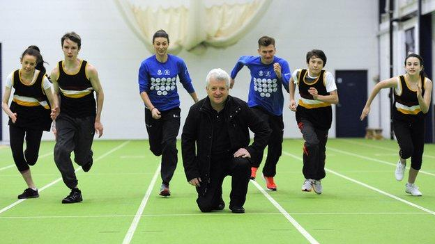 Stephen Maguire at Ayrshire Athletics Arena