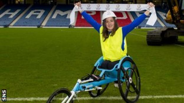 T54 1500m athlete Meggan Dawson-Farrell