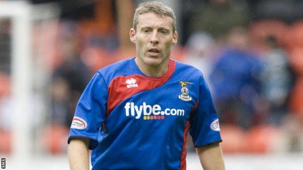 Former Inverness midfielder Barry Wilson