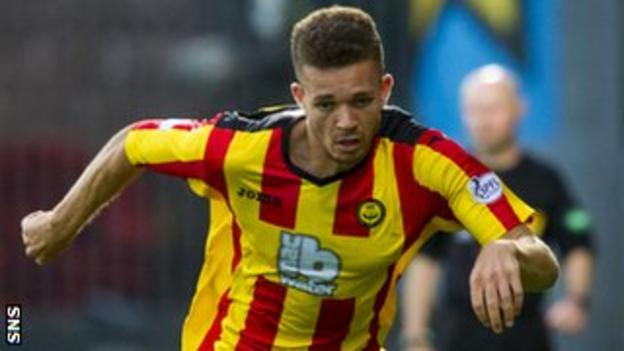 Partick Thistle full-back Aaron Taylor-Sinclair