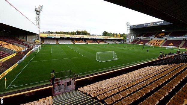 Motherwell's Fir Park ground