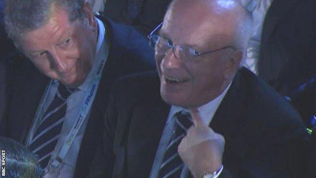 Roy Hodgson and Greg Dyke