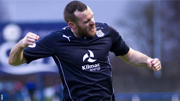 Dundee forward Craig Beattie