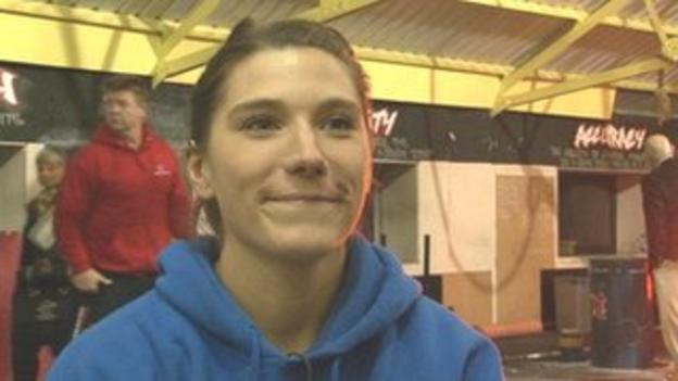 Scotland weightlifter Jane Armour