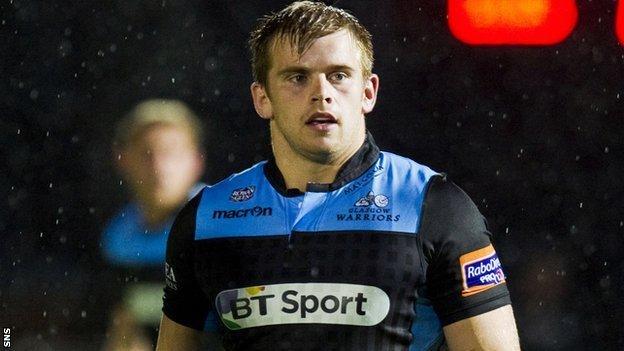 Glasgow Warriors' Pat MacArthur
