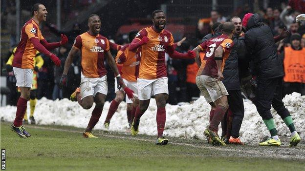Galatasaray v Juventus