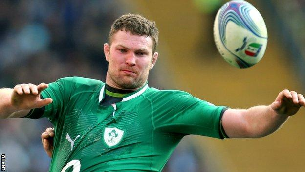 Ireland forward Donnacha Ryan