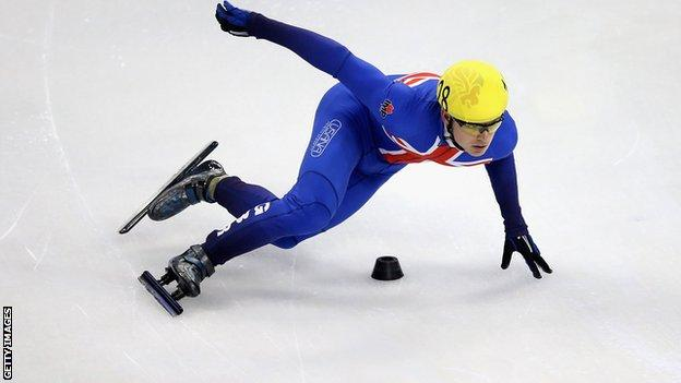 Team GB's Richard Shoebridge