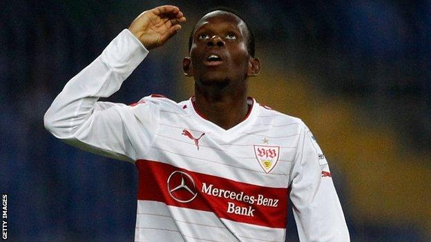 Stuttgart and Guinea winger Ibrahima Traore
