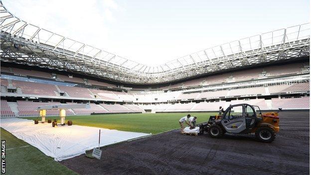 Nice's Allianz Riviera Stadium