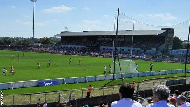 Casement Park is the home ground of Antrim