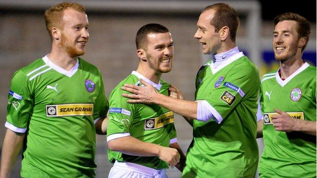 Champions Cliftonville have been on a fine run in the Irish Premiership