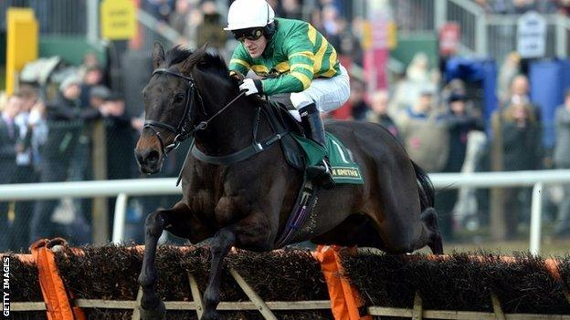 AP McCoy on At Fishers Cross