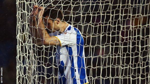 Brighton striker Ashley Barnes