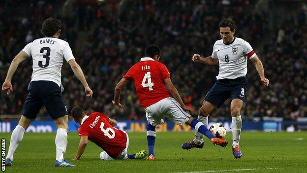 Chile showed their quality with victory over England at Wembley in November