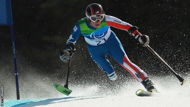 Skier Allison Jones