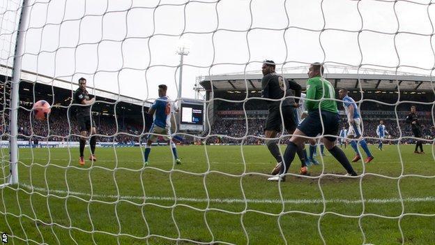 Alvaro Negredo (left) puts Manchester City in front at Blackburn Rovers
