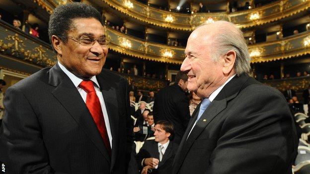 Eusebio Sepp Blatter