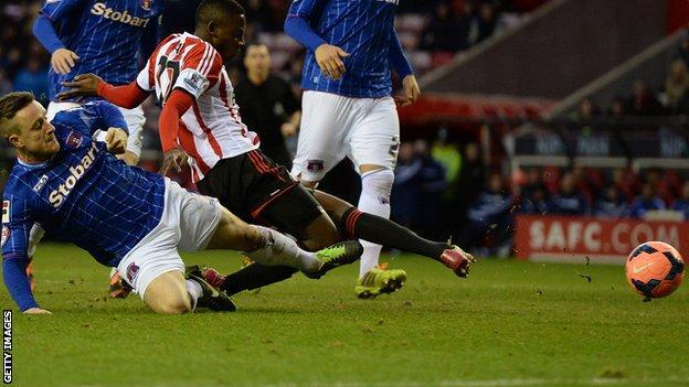 El Hadji Ba scores for Sunderland