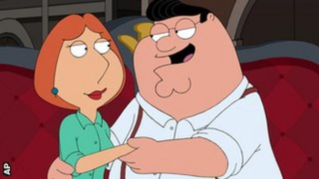 Lois and Peter Griffin