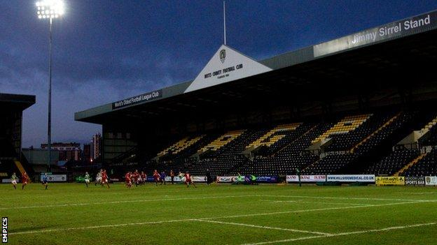 Nottingham Rugby's home ground at Meadow Lane