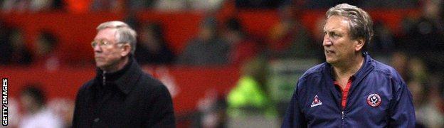 Neil Warnock and Sir Alex Ferguson