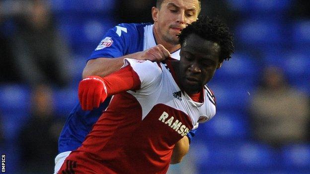 Middlesbrough forward Kei Kamara
