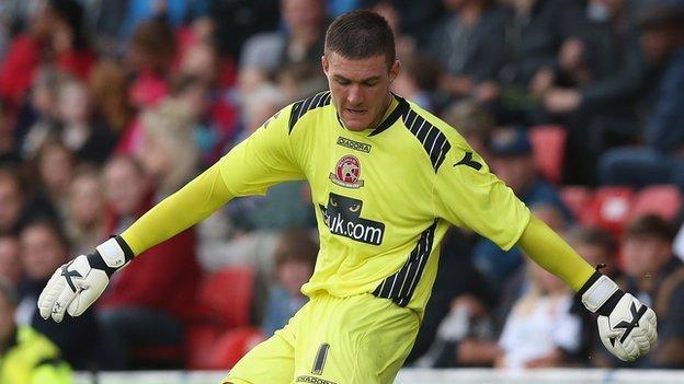 Walsall keeper Richard O'Donnell