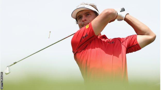 Joost Luiten at the Volvo Golf Champions in Durban.