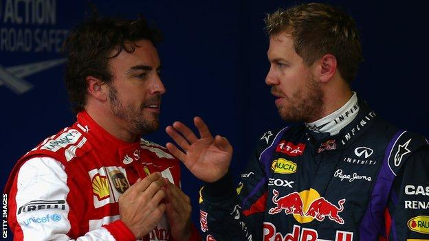 Sebastian Vettel, Fernando Alonso and the rest of the F1 drivers have picked the numbers they will have for the rest of their careers.