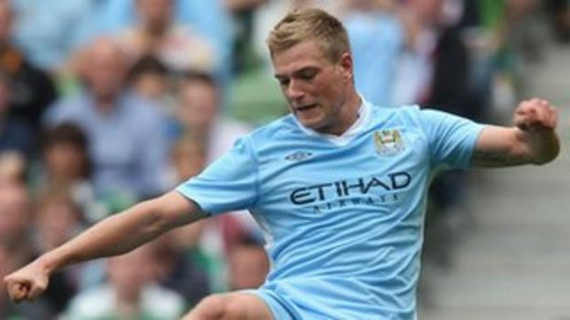 Manchester City striker John Guidetti