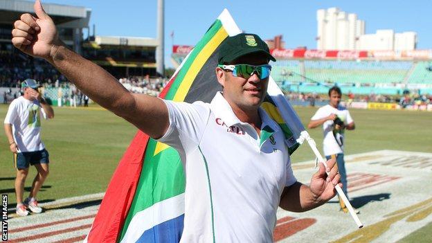 Jacques Kallis bids farewell to Test cricket
