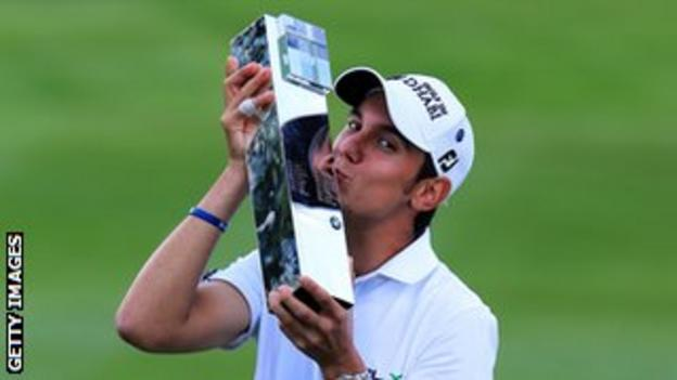 Manassero claimed the fourth title of his career when he won the BMW PGA Championship in May 2013