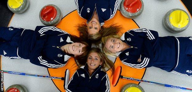 Great Britain's women's curling team