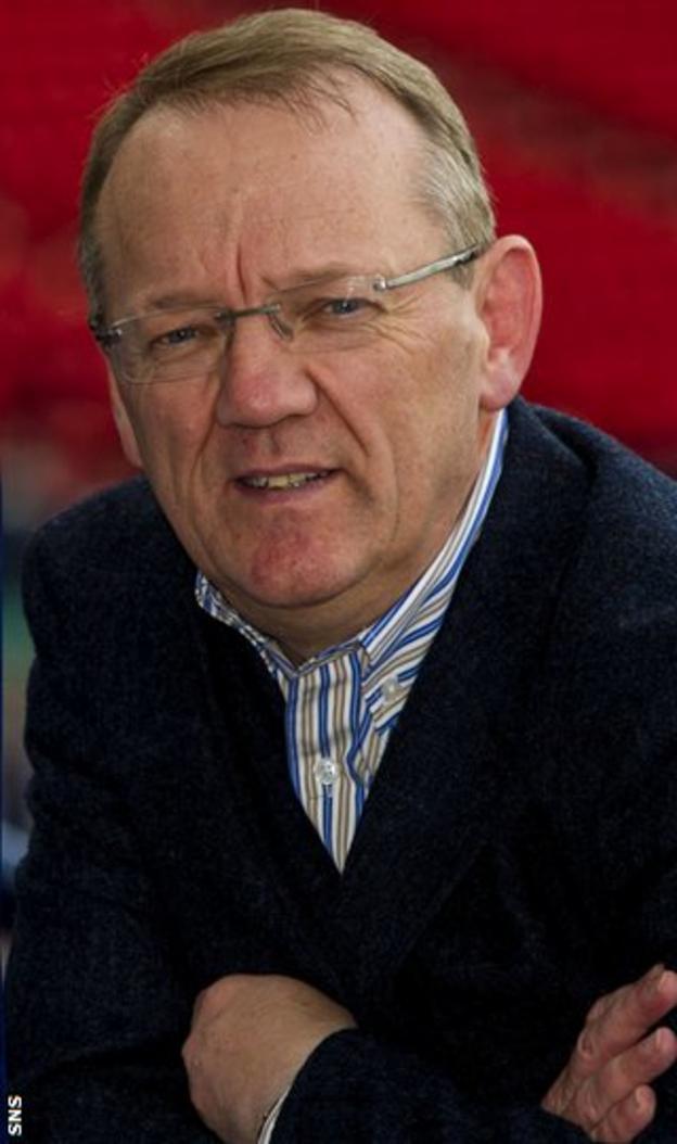 Hearts director of football John Murray