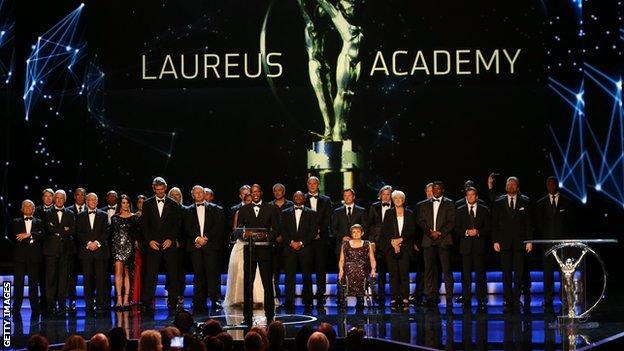 Laureus Sports Awards Ceremony 2013