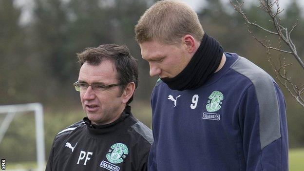 Pat Fenlon and Garry O'Connor