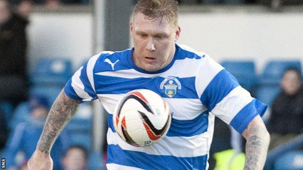 Morton striker Garry O'Connor