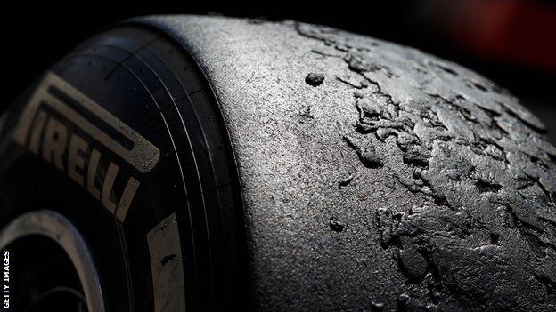 Shredded tyre