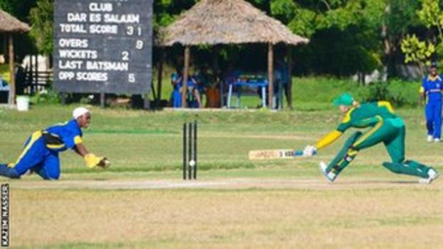 Tanzania's women in action against South Africa