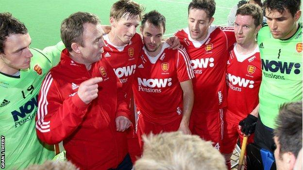 England hockey team talk