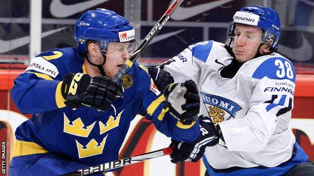 Sweden ice hockey team