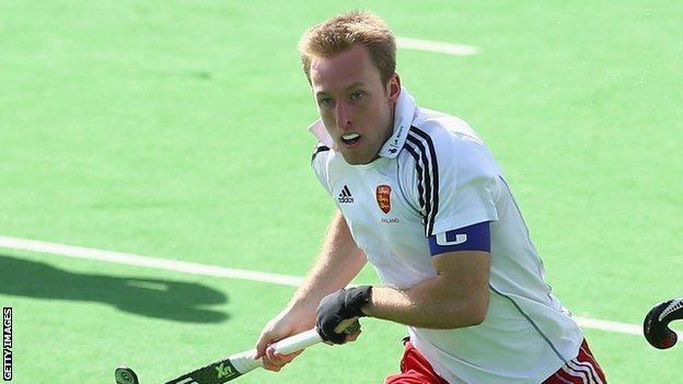 England hockey player Barry Middleton