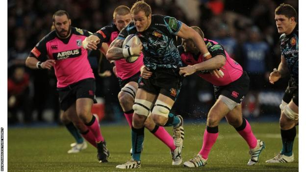 Former Scarlets and Cardiff club lock Damien Welch
