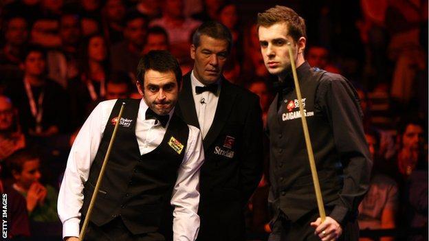 Ronnie O'Sullivan & Mark Selby