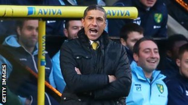 The pressure lifted on Norwich manager Chris Hughton with Saturday's win over Hull