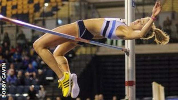 High jumper Jayne Nisbet