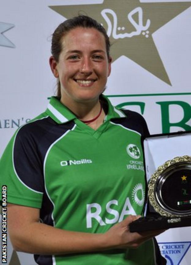 Isobel Joyce was named player of the match after Sunday's game