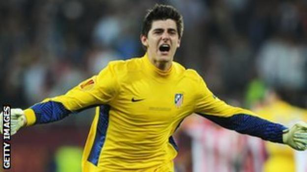 Chelsea goalkeeper Thibaut Courtois has been on loan at Atletico Madrid for the last three seasons